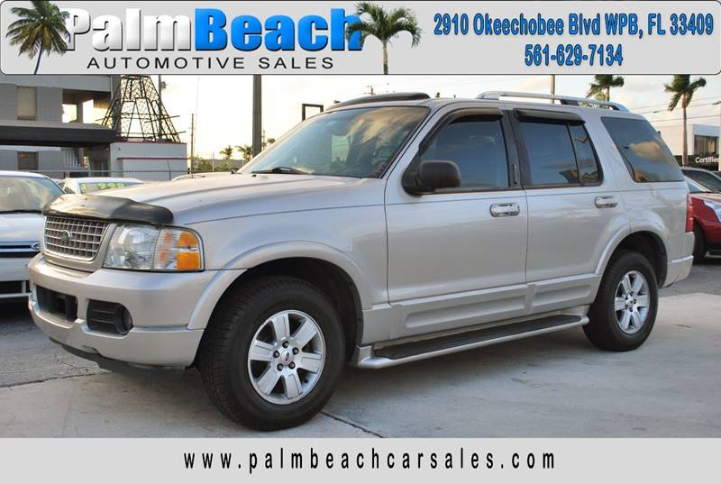 2003 Ford Explorer for sale at Palm Beach Automotive Sales in West Palm Beach FL