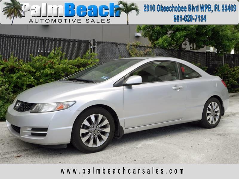 Amazing 2009 Honda Civic For Sale At Palm Beach Automotive Sales In West Palm Beach  FL