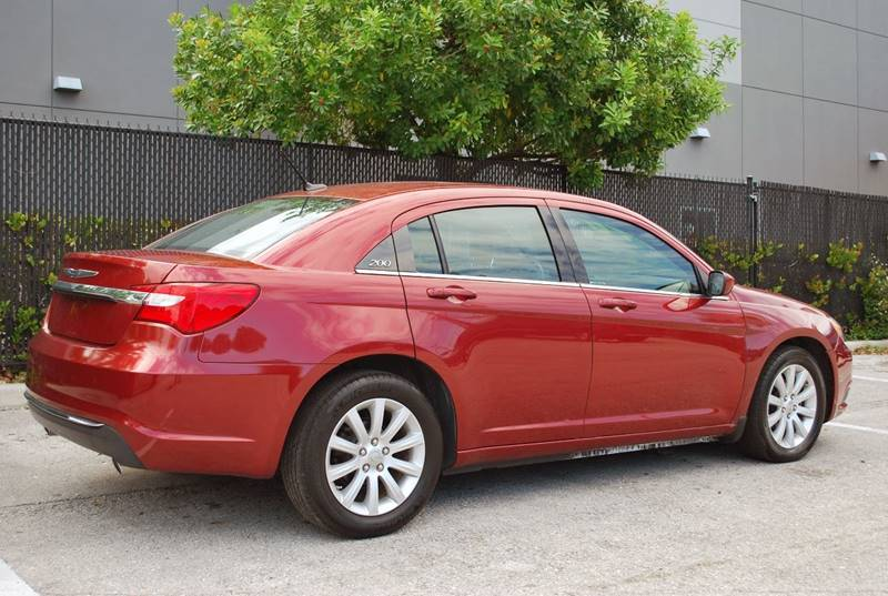 chrysler 200 2014 red. 2014 chrysler 200 for sale at palm beach automotive sales in west fl red