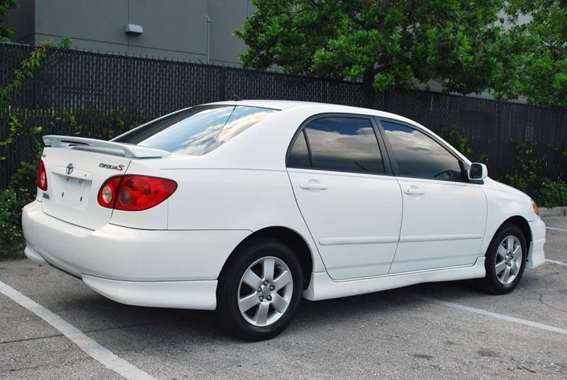 2008 Toyota Corolla for sale at Palm Beach Automotive Sales in West Palm Beach FL