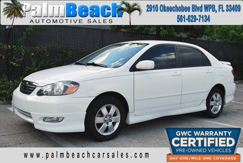 2008 Toyota Corolla for sale in West Palm Beach, FL