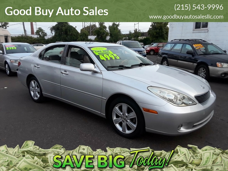 2005 Lexus ES 330 For Sale At Good Buy Auto Sales In Philadelphia PA