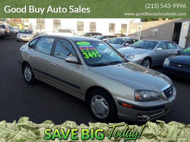 2006 Hyundai Elantra For Sale At Good Buy Auto Sales In Philadelphia PA