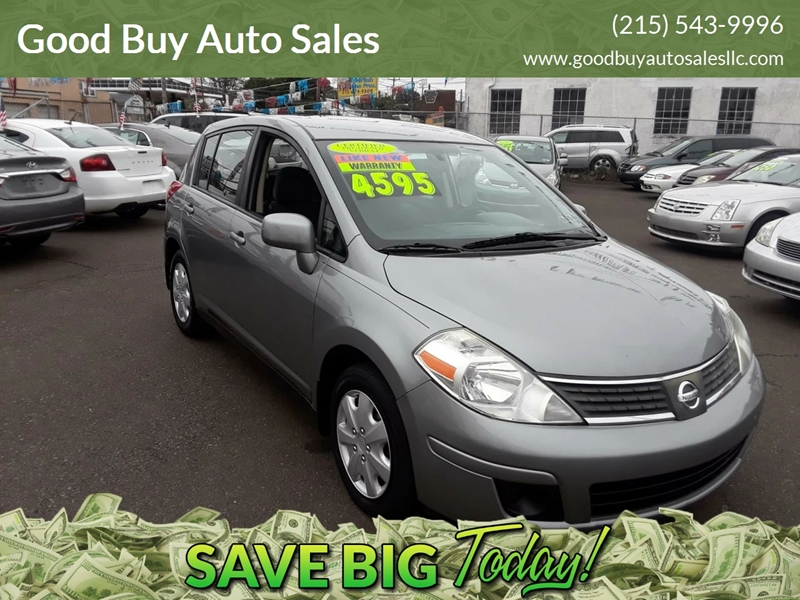 2009 Nissan Versa For Sale At Good Buy Auto Sales In Philadelphia PA