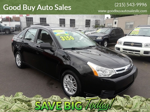 2010 Ford Focus for sale in Philadelphia, PA