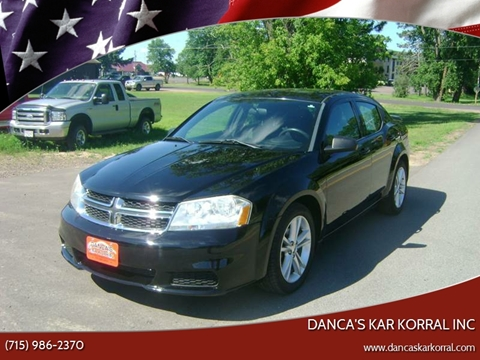 2012 Dodge Avenger for sale in Turtle Lake, WI