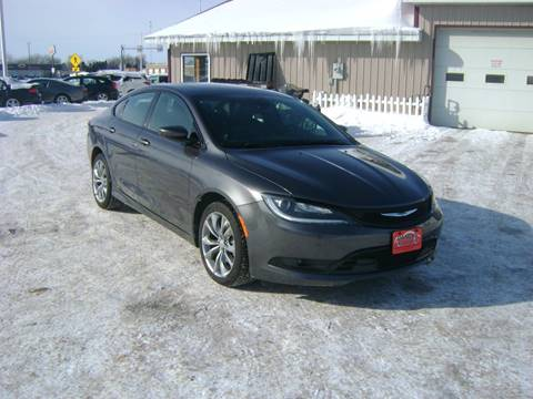 2015 Chrysler 200 for sale in Turtle Lake, WI