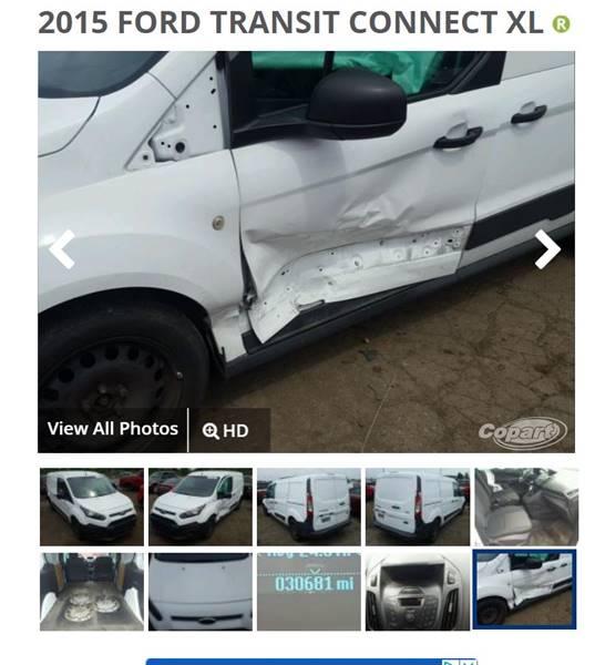 52c7a7ded7 2015 Ford Transit Connect Cargo XL 4dr LWB Cargo Mini-Van w Rear ...