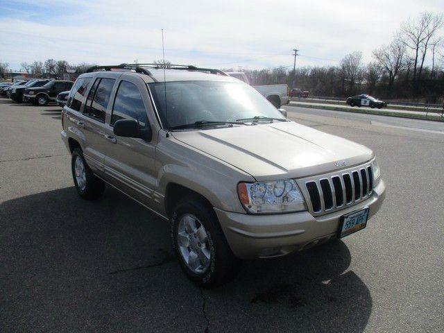 2001 Jeep Grand Cherokee Limited 4WD 4dr SUV - Inver Grove Heights MN
