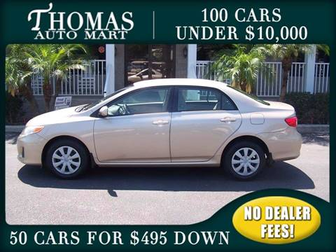 2011 Toyota Corolla for sale in Dade City, FL
