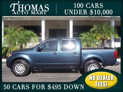 2015 Nissan Frontier for sale in Dade City, FL