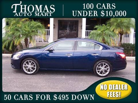 2010 Nissan Maxima for sale in Dade City, FL