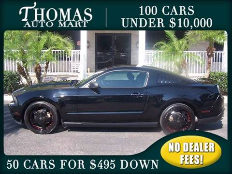 2012 Ford Mustang for sale in Dade City, FL
