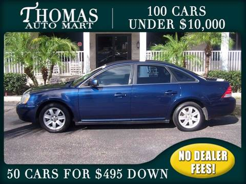 2007 Mercury Montego for sale in Dade City, FL