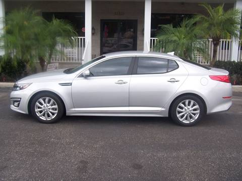 2015 Kia Optima for sale at Thomas Auto Mart Inc in Dade City FL
