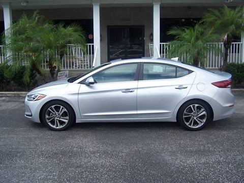 2017 Hyundai Elantra for sale at Thomas Auto Mart Inc in Dade City FL