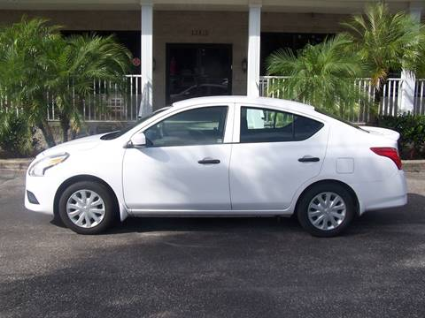 2016 Nissan Versa for sale at Thomas Auto Mart Inc in Dade City FL