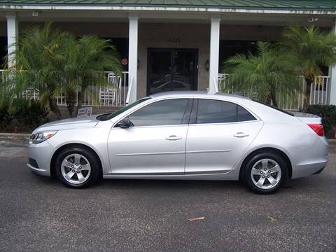 2015 Chevrolet Malibu for sale at Thomas Auto Mart Inc in Dade City FL
