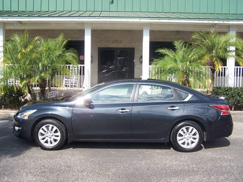 2014 Nissan Altima for sale at Thomas Auto Mart Inc in Dade City FL