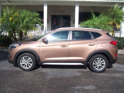 2017 Hyundai Tucson for sale at Thomas Auto Mart Inc in Dade City FL