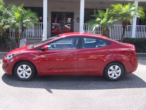 2016 Hyundai Elantra for sale at Thomas Auto Mart Inc in Dade City FL