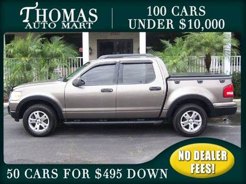2007 Ford Explorer Sport Trac for sale in Dade City, FL