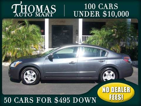2012 Nissan Altima for sale in Dade City, FL