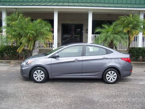 2016 Hyundai Accent for sale at Thomas Auto Mart Inc in Dade City FL