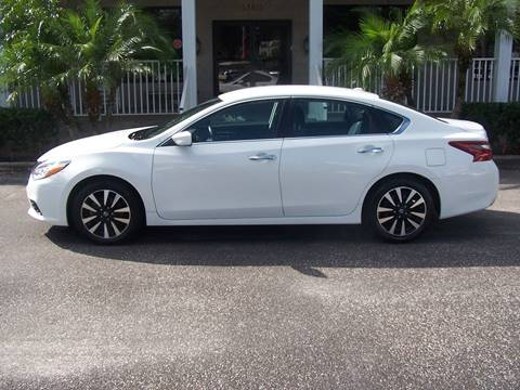 2018 Nissan Altima for sale at Thomas Auto Mart Inc in Dade City FL