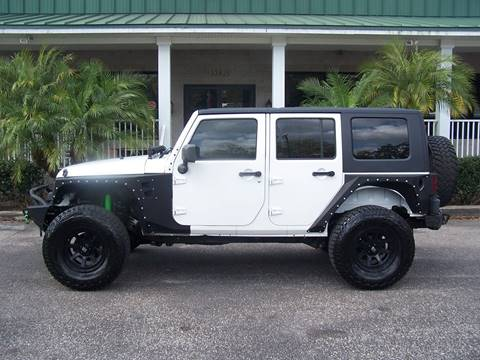 2010 Jeep Wrangler Unlimited for sale at Thomas Auto Mart Inc in Dade City FL