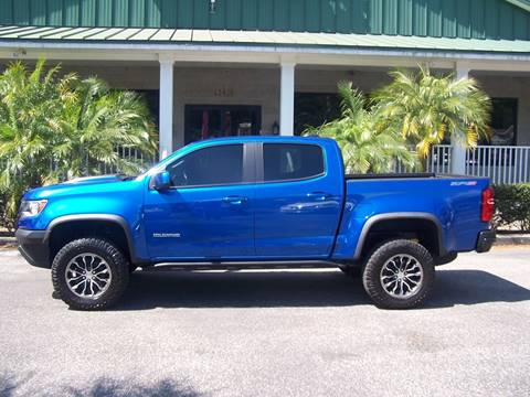2018 Chevrolet Colorado for sale at Thomas Auto Mart Inc in Dade City FL
