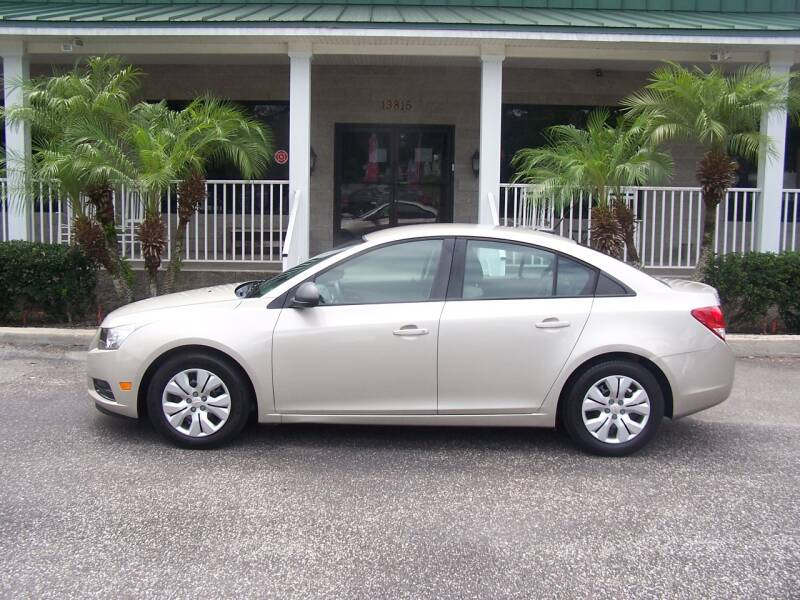 2013 Chevrolet Cruze for sale at Thomas Auto Mart Inc in Dade City FL