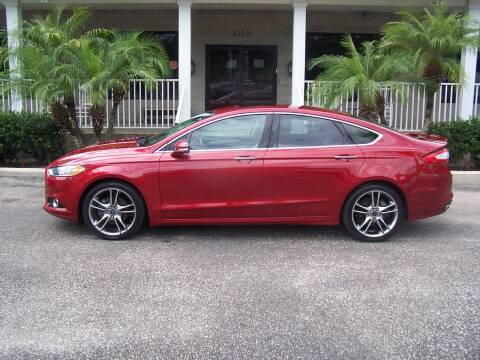 2015 Ford Fusion for sale at Thomas Auto Mart Inc in Dade City FL