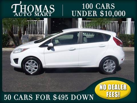 2011 Ford Fiesta for sale in Dade City, FL