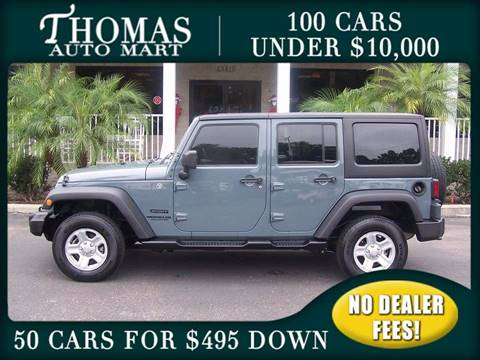 2014 Jeep Wrangler Unlimited for sale in Dade City, FL