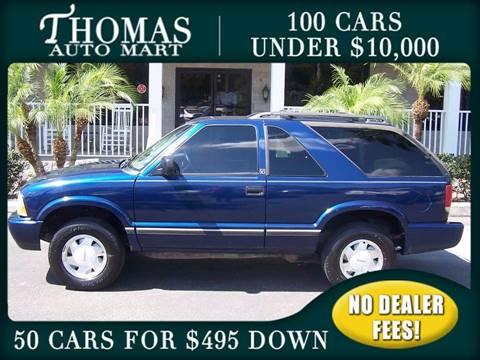 2001 GMC Jimmy for sale in Dade City, FL