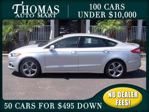 2013 Ford Fusion for sale in Dade City, FL