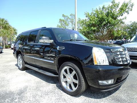 2011 Cadillac Escalade ESV for sale in Plantation, FL