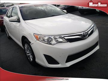 2012 Toyota Camry for sale in Plantation, FL