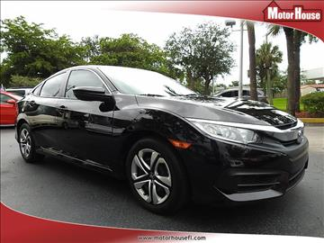 2016 Honda Civic for sale in Plantation, FL