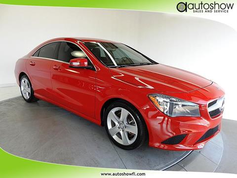 2015 Mercedes-Benz CLA for sale in Plantation, FL