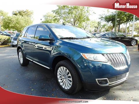 2011 Lincoln MKX for sale in Plantation, FL
