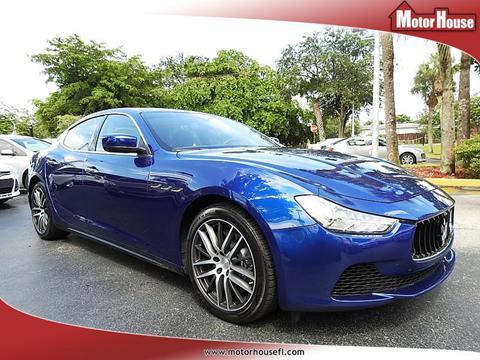 2015 Maserati Ghibli for sale in Plantation, FL