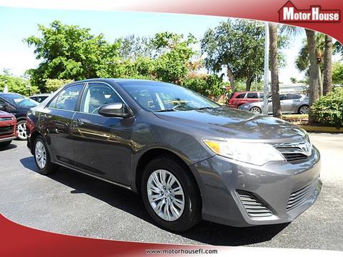 2013 Toyota Camry Hybrid for sale in Plantation, FL