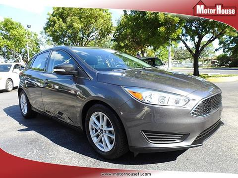 2016 Ford Focus for sale in Plantation, FL