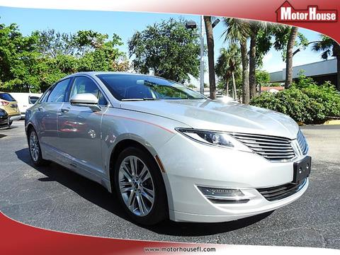 2013 Lincoln MKZ for sale in Plantation, FL