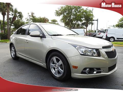 2014 Chevrolet Cruze for sale in Plantation, FL