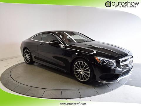 2015 Mercedes-Benz S-Class for sale in Plantation, FL