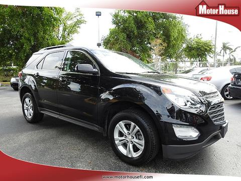 2016 Chevrolet Equinox for sale in Plantation, FL