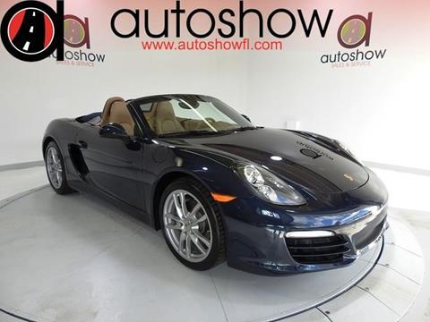 2013 Porsche Boxster for sale in Plantation, FL